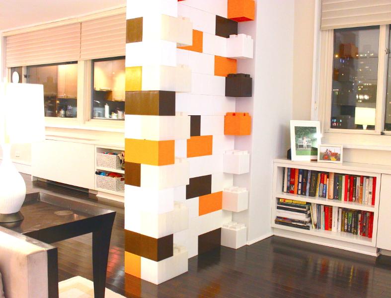 dekorativer Raumteiler
